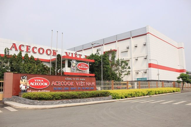 Công ty Acecook, nơi ra đời của những gói mì chất lượng.