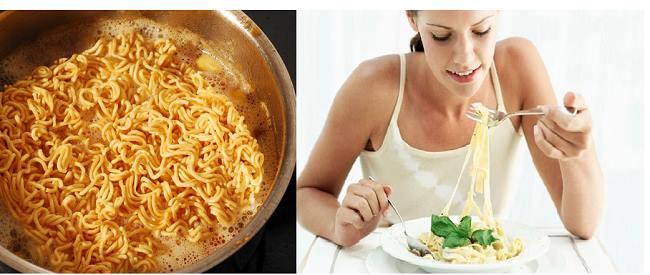 Mì ăn liền thiếu nhiều dưỡng chất cần thiết cho cơ thể.