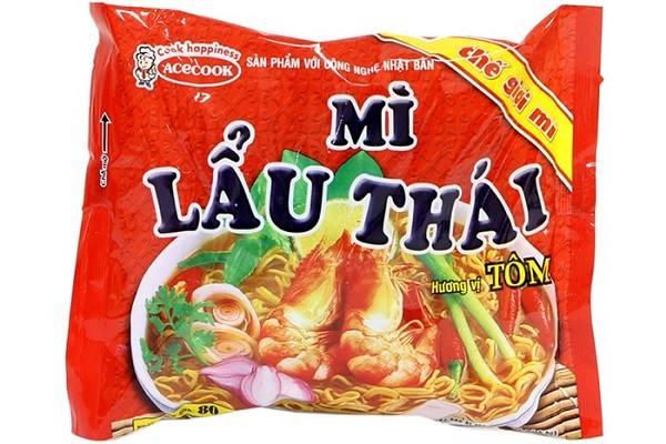 Mì Lẩu Thái tôm