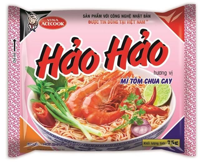 Mì tôm Hảo Hảo quen thuộc với nhiều thế hệ người Việt Nam.