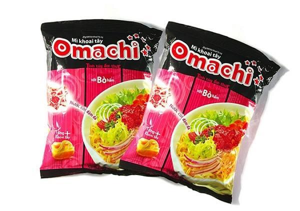 Mì tôm Omachi