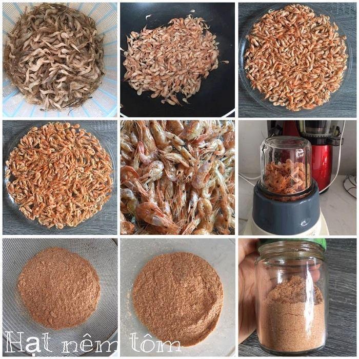 Hoàn thành quá trình làm bột canh Hảo Hảo thơm ngon